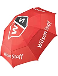 2016 Wilson Staff Pro Tour Golf Umbrella with Wind Resistance Durability and a Double Canopy