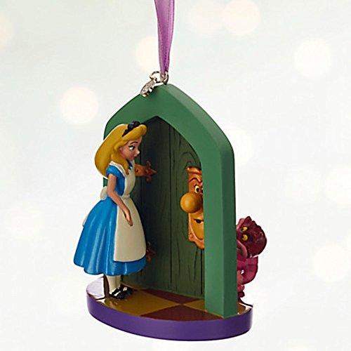Disney Alice in Wonderland Sketchbook Ornament - 2016