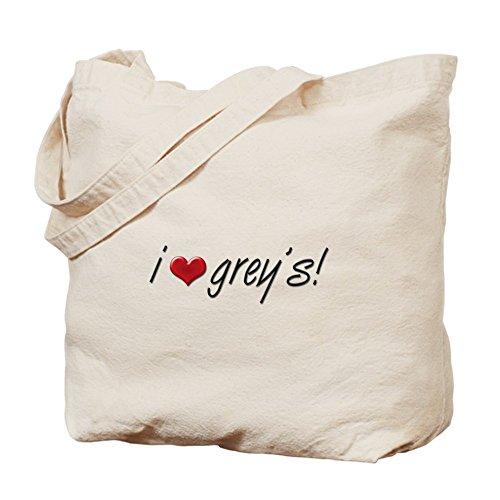CafePress–I Anatomia del cuore grigio–borsa di tela naturale, panno borsa per la spesa