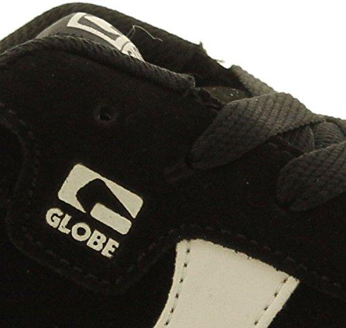 Globe Encore 2 Zwart Wit Suede Heren Schaatsen Trainers Schoenen Laarzen