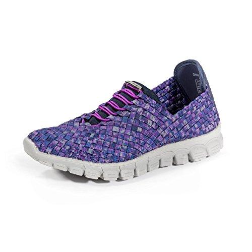 - Zee Alexis Women's Danielle Sneaker, Navy Plum, 11