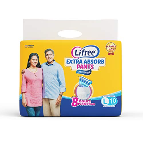 Lifree Large Size Diaper Pants – 10 Count