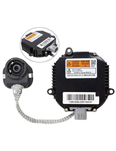 Xenon Headlight Ballast HID Control Unit Module ECU Box Computer - Replaces# 28474-8991A, 28474-89904, 28474-89907, NZMNS111LANA - Fits Nissan Murano, Maxima, Altima, 350Z, Infiniti QX56, G35, FX35