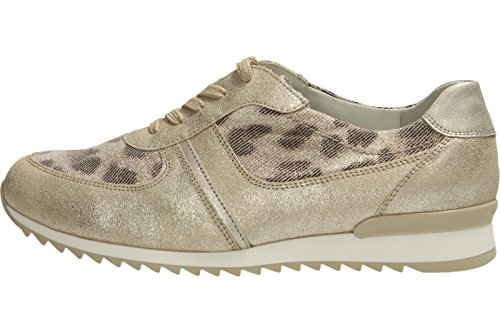 Waldläufer Damen Hurly Sneakers lightgold/capuccino/silber Weite H