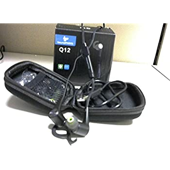 SoundPEATS Bluetooth Headphones Magnetic Wireless Earbuds Sport In-Ear Sweatproof Earphones with Mic (Bluetooth 4.1, aptx, 6 Hours Play Time, Secure Fit Design) Black