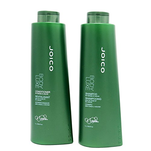 Joico Body Shampoo - Joico Body Luxe Shampoo & Conditioner Liter Duo (33.8 Oz) by JOICO BEAUTY