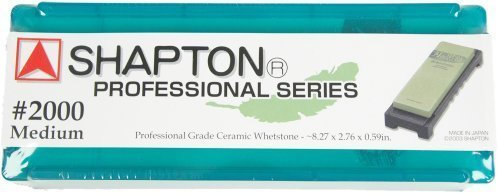 Shapton 2000 Grit (Green) Professional Series Waterstone by Shapton