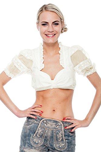 """Festliche Dirndlbluse """"Cream Pearl"""" (creme)"""