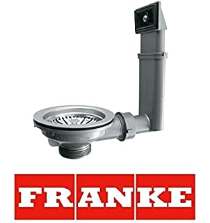 genuine franke kitchen single 10 bowl kitchen sink waste overflow kit. beautiful ideas. Home Design Ideas