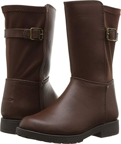 Stride Rite Willow Girl's Lightweight Riding Boot Fashion, Brown 4 M US Big -