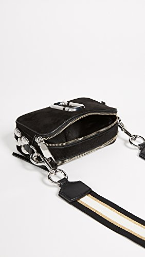 Marc Cross Snapshot Chain Body Jacobs Women's Bag Black Pave TrxTZS
