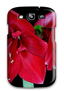 Earl N Vines Snap On Hard Case Cover Amaryllis Blossoms Protector For Galaxy S3