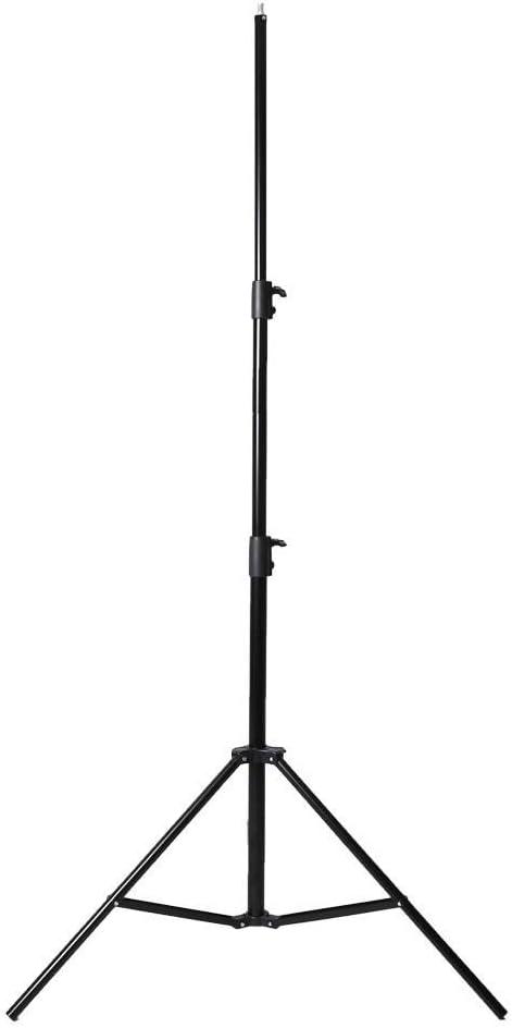 حامل اضاءة التصوير بطول 2.8 متر 9 أقدام شديد التحمل مزود بزنبرك