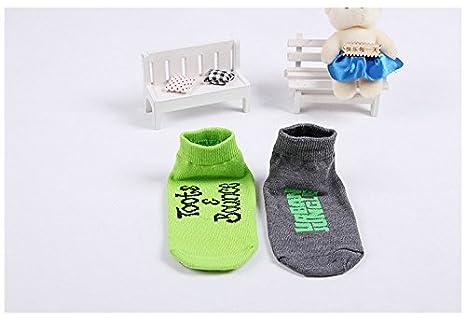 TUKA Anti-Slip Baby Socks Kids Socks Girls Boys Yoga Pilates Trampoline Gym etc Fitness No Slip Socks Body Balance Unisex Socks with Anti Skip ABS Grip for Home TKB7001 Martial Arts