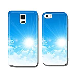 the sun breaking through the clouds cell phone cover case Samsung S6