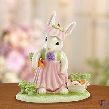 Lenox Bunny Harvest Figurine