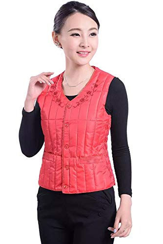 with Fashion Outwear Down Warm 02 Down Waist Jacket Women's Buckle Elastic Vest Waistcoats Style Lightweight YIHIGH Style q71HS