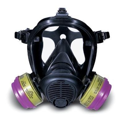 Survivair 702028 Opti-Fit APR Respirator Clear Lens Cover 25 Pack