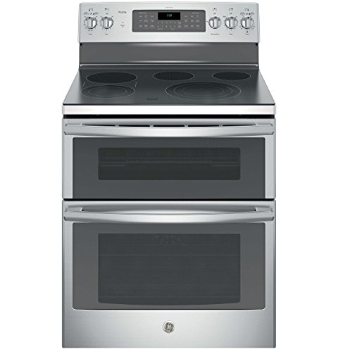 GE PB980SJSS Profile 30″ Stainless Steel Electric Smoothtop Double Oven Range – Convection
