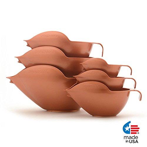 POURFect Mixing Bowls 1015 - 1-2-4-6-8-12 Cup Bowl Set - ...