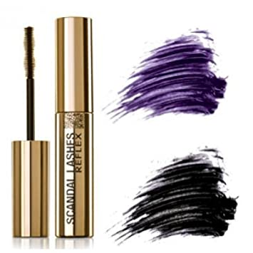 Zermat Reflex Scandal Lashes 0.35oz, Mascara Para Pestañas 10gr (Black Intense)