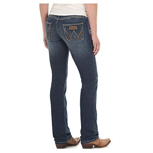 Wrangler Women's Retro Mae Mid-Rise Jeans Blue 7W x 34L