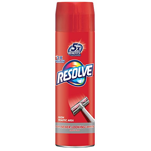 Clean Foam Cleaner - Resolve High Traffic Carpet Foam, 22 oz Can, Cleans Freshens Softens & Removes Stains
