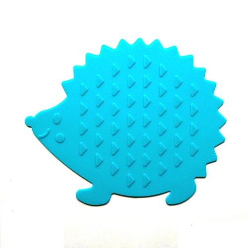Allforhome(TM) Silicone Heat resistant Coasters Tableware Insulation Pad Pot holders Insulation Mat Hedgehog Shape