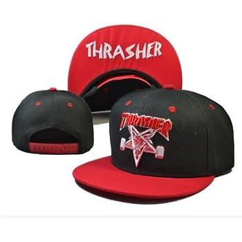 Thrasher Fashion Unisex Snapback adjustable Baseball Cap Hip Hop hat(color 6)