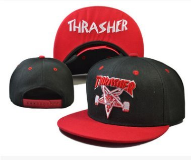 40cea972370 Amazon.com  Thrasher Fashion Unisex Snapback adjustable Baseball Cap Hip  Hop hat(color 6)  Sports   Outdoors