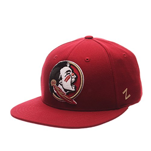 Zephyr NCAA Florida State Seminoles Men's M15 Fitted Hat, Cardinal, Size 7 3/8