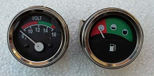 Massey Ferguson Traktor Messgerät Volt Messgerät Kraftstoff Für 230 235 240 243 245 250 253 Auto