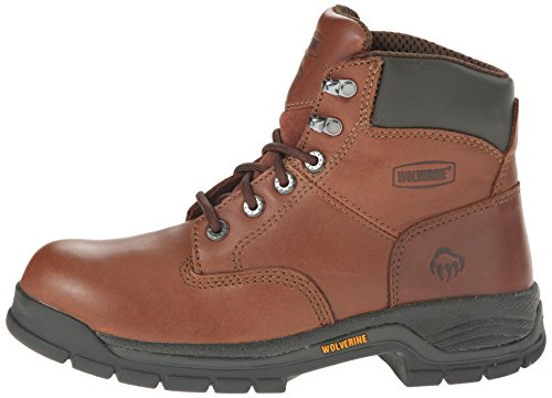 Wolverine Women's Harrison WMS 6'' LACE UP-W, Brown, 9 M US by Wolverine (Image #5)