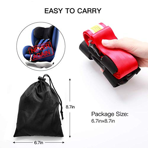 Airplane Travel Safety Clip Strap Baby Kids /& Toddlers Restraint System with Free Carry Pouch Bag Strictly for Aviation Travel Only Child Airplane Travel Safety Harness Approved by FAA