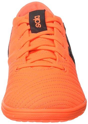 adidas Jungen Nemeziz 17.4 in J Sala Fußballschuhe Mehrfarbig (Solar Orange/core Black)