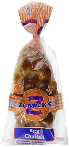 Zomick's, Kosher Medium Egg Challah, 15 - Jewish Bread