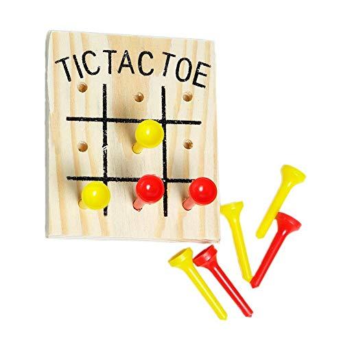 Wooden Tic Tac Toe Games