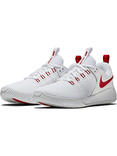low price fee shipping for sale brand new unisex cheap online NIKE Women's Zoom Hyperace 2 Training Shoe White/University Red buy authentic online prices online laakGjl2rv