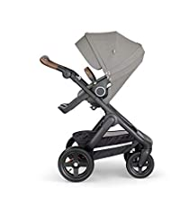 The Stokke Trailz stroller for baby and toddler is built for action, giving your baby a smooth ride wherever life takes you. All-terrain tires take you wherever you want to go no matter the season, making it perfect for active families. The s...