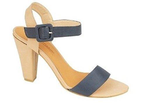 à Ladies NAVY ouverts d'été Michelle Black talons Sandales Anne NUDE bouts hauts à et Chaussure Chaussures qxwYF6rq1