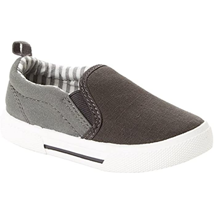 Simple Joys by Carter's Unisex-Child Casual Slip-on Canvas Shoe Sneaker