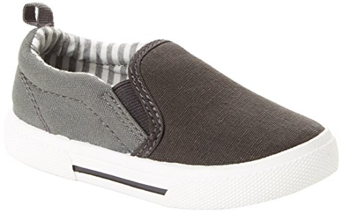 Simple Joys by Carter's Baby Boys' Phil Casual Slip-on Shoe Sneaker, Grey, 7 M US -