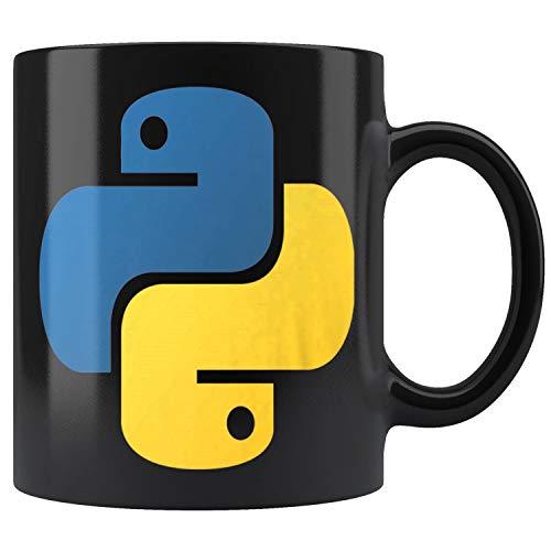 Python Official Logo Scripting Programming Language Mug Coffee Mug 11oz Gift Tea Cups 11oz