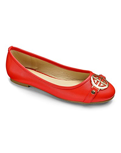Soles Sie Heavenly einfach Ballerinas Seien Rot Womens watIxq