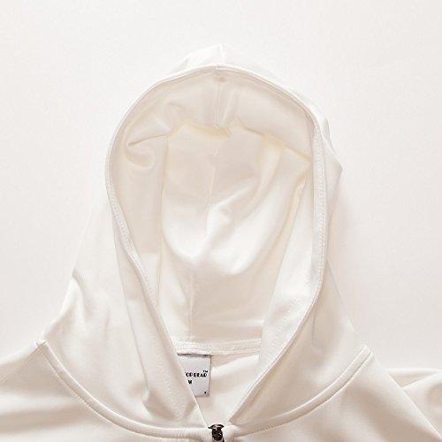 Ttsit Cold Coat Autunno Tuta Streetwear Abbigliamento Wolf Hoodies Zip Zip671 Felpa Pullover Zipper 3d Uomo wRpqwr