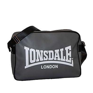 7f1e0fcc89bc Lonsdale Tasche TREND Shoulder Bag - Concrete Grey Black Größe Standard