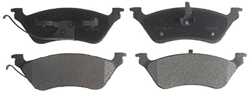 ACDelco 14D858M Advantage Semi-Metallic Rear Disc Brake Pad Set