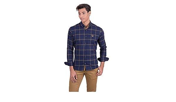 La Vespita Camisa de Cuadros Grandes Logo Vespa: Amazon.es: Ropa y ...