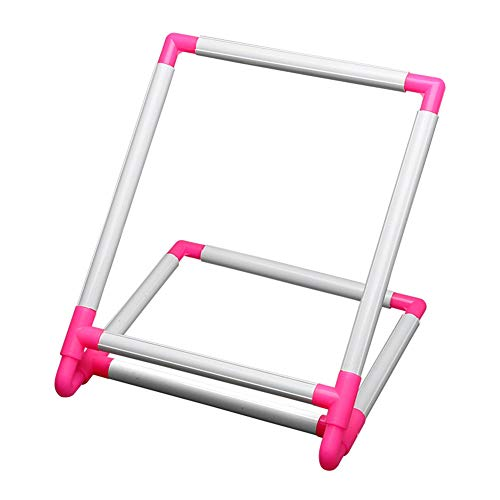 Lzttyee Universal Embroidery Clip Frame Cross Stitch Hoop Embroidery Sewing Stand Tools for Quilting, Needlepoint, Silk-Painting