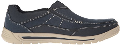 Rockport Mens Randle Slip Sur Bleu Oxford